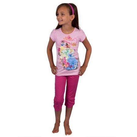 Disney Princesses - Twirling Girls Juvy Capri Set