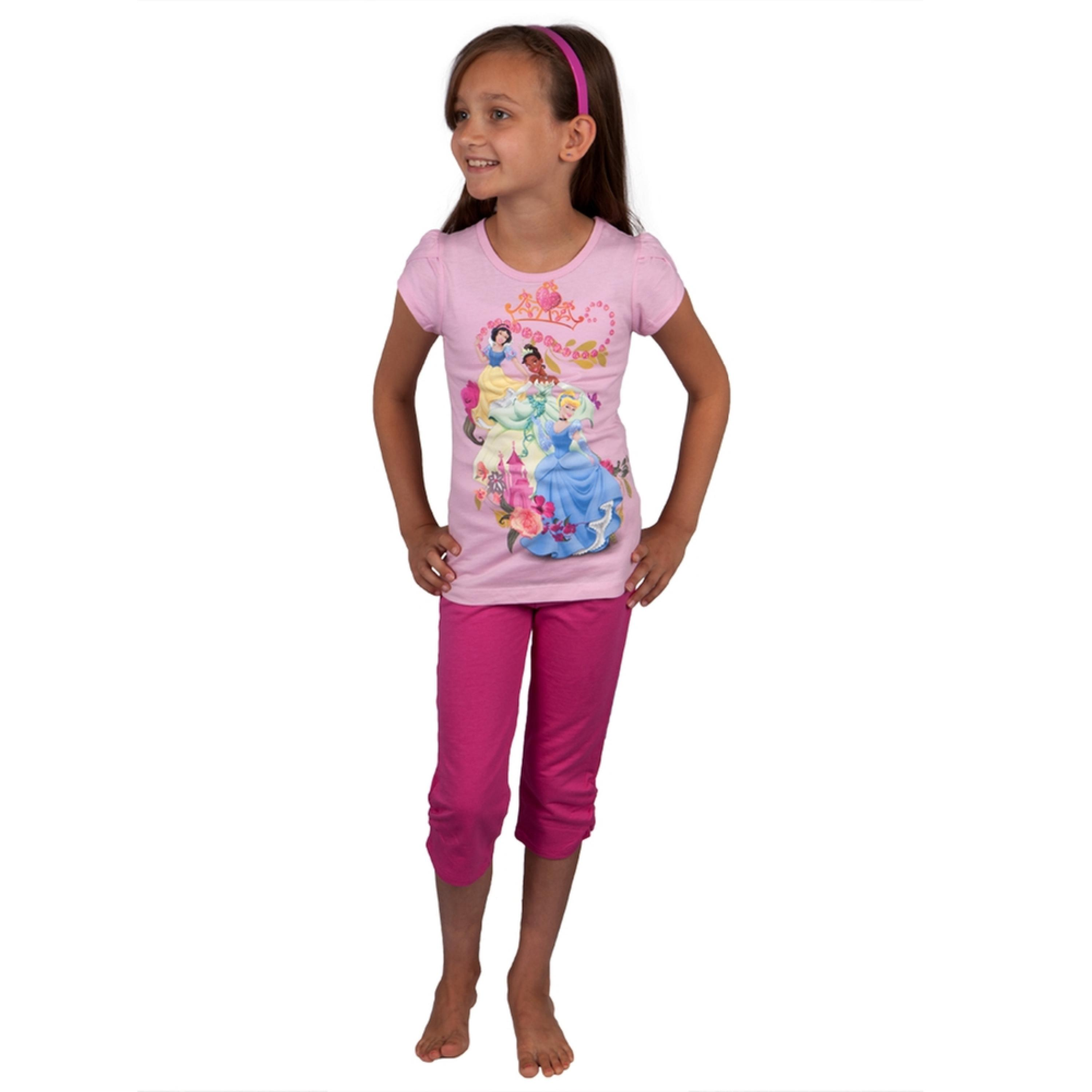 Disney Princesses - Twirling Girls Juvy Capri Set