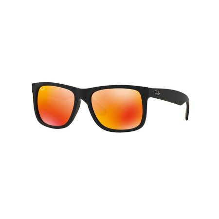 Boyfriend Mirrored Wayfarer Sunglasses