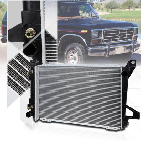 Aluminum Radiator OE Replacement for 85-97 Ford F150/F250/F350/Bronco AT 1453 86 87 88 89 90 91 92 93 94 95 96