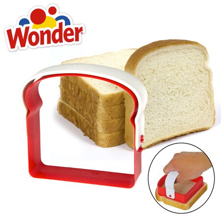Wonder Bread Sandwich De Cruster With Handle Slices Crust Remover