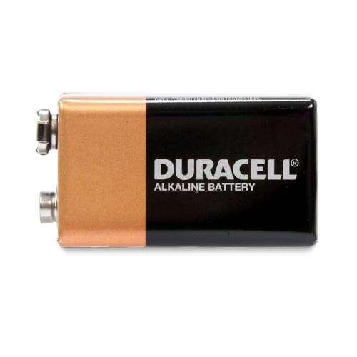 Duracell CopperTop MN1604B2Z 2-Pack 9 volt Battery - Alkaline