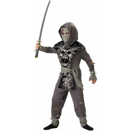 Zombie Ninja Child Halloween Costume - Zombie Halloween Costume Uk