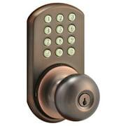MiLocks HKK-01OB Touchpad Electronic Door Knob, Oil Rubbed Bronze