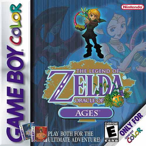 Legend of Zelda: Oracle of Ages Game Boy Color