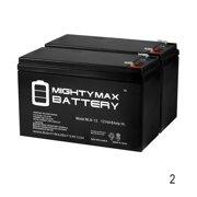 ML8-12 - 12V 8AH Razor Ground Force Drifter 25143400 Electric Go Kart Battery - 2 Pack