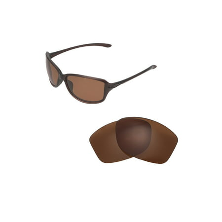 7ae565b9b3246 Walleva Brown Polarized Replacement Lenses for Oakley Cohort Sunglasses -  Walmart.com