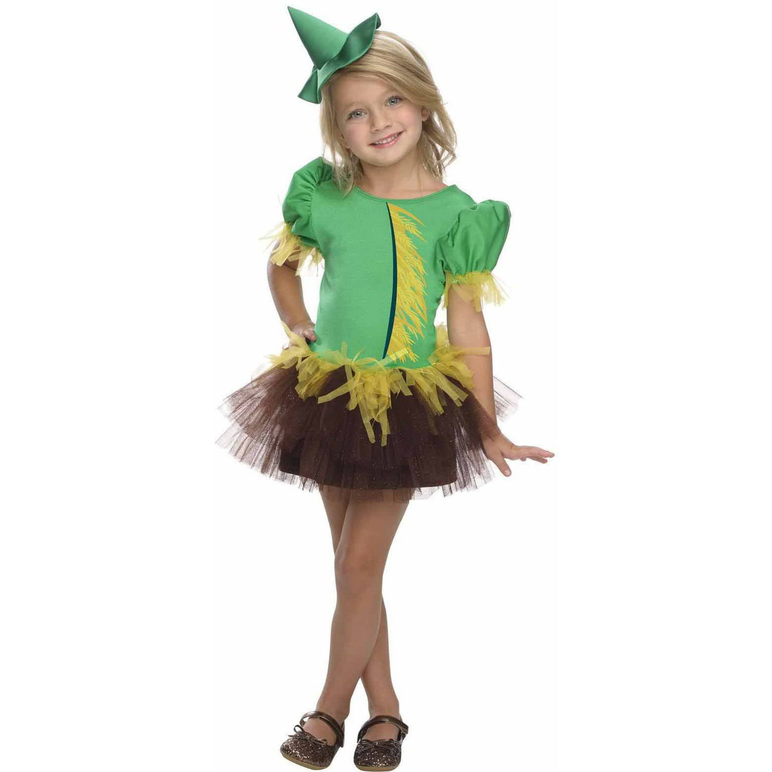 "Wizard of Oz ""Scarecrow"" Tutu Girls' Child Halloween Costume"