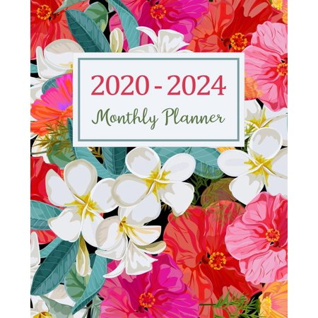 5 Year 2020-2024 Daily Weekly & Monthly Planners Holidays: 2020-2024 Monthly Planner: Five Years Monthly Planner (60 Months Calendar) For To Do List Journal Notebook Academic Schedule Agenda Logbook (Killeen Us)