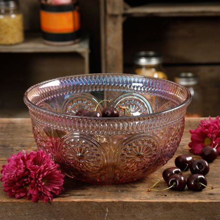 The Pioneer Woman Luster Pink 9.25-Inch Serving Bowl](Personalized Serving Bowls)
