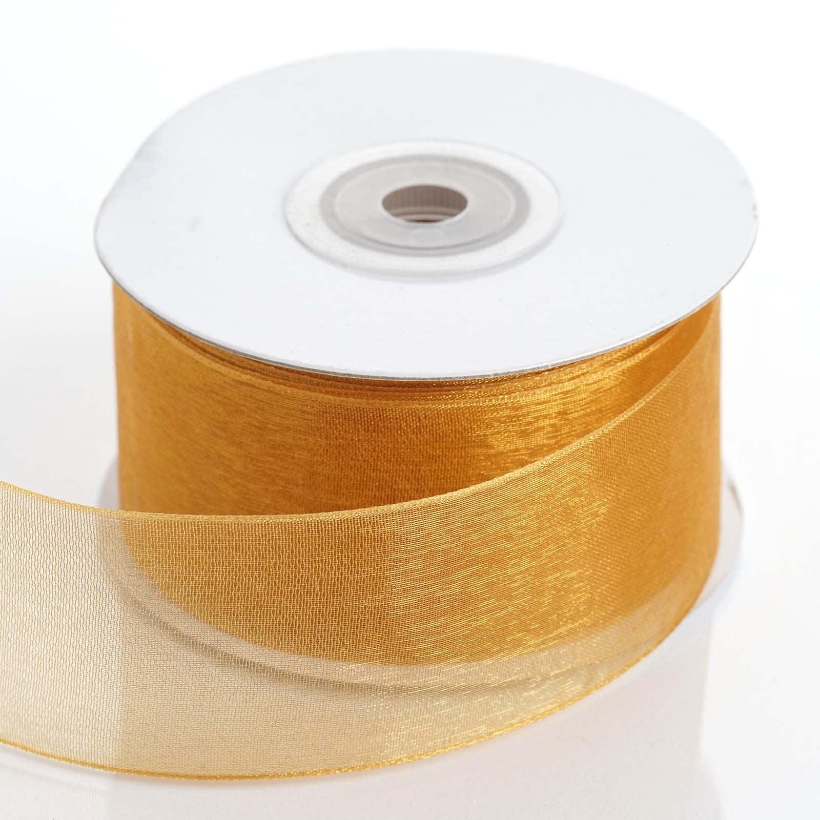 """Efavormart Multiple Colors Wedding Party Decoration DIY Organza Ribbon 1 1/2"""""""