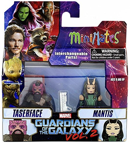 Marvel Guardians Of The Galaxy Vol 2 Minimates Series 71 Taserface