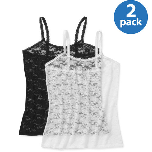 Smart & Sexy Women's Lace Camisole, 2-Pack