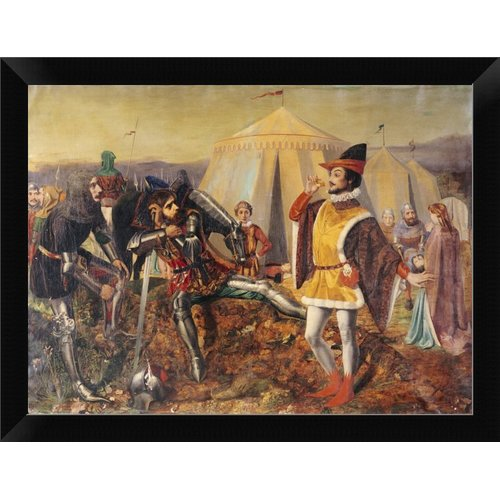East Urban Home 'The Dauphin of France' Framed Oil Painting Print