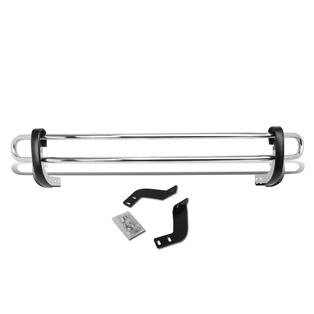 For 11-16 Toyota Sienna XL30 Stainless Steel Double Bar R...
