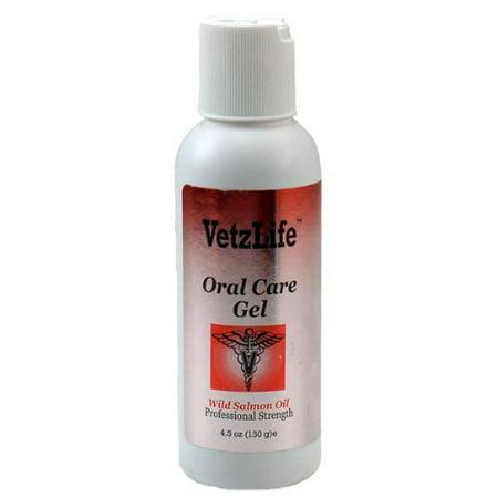 189185000965 - VetzLifetrade; Feline Oral Care Gel Wild Salmon Oil (4.5 oz)
