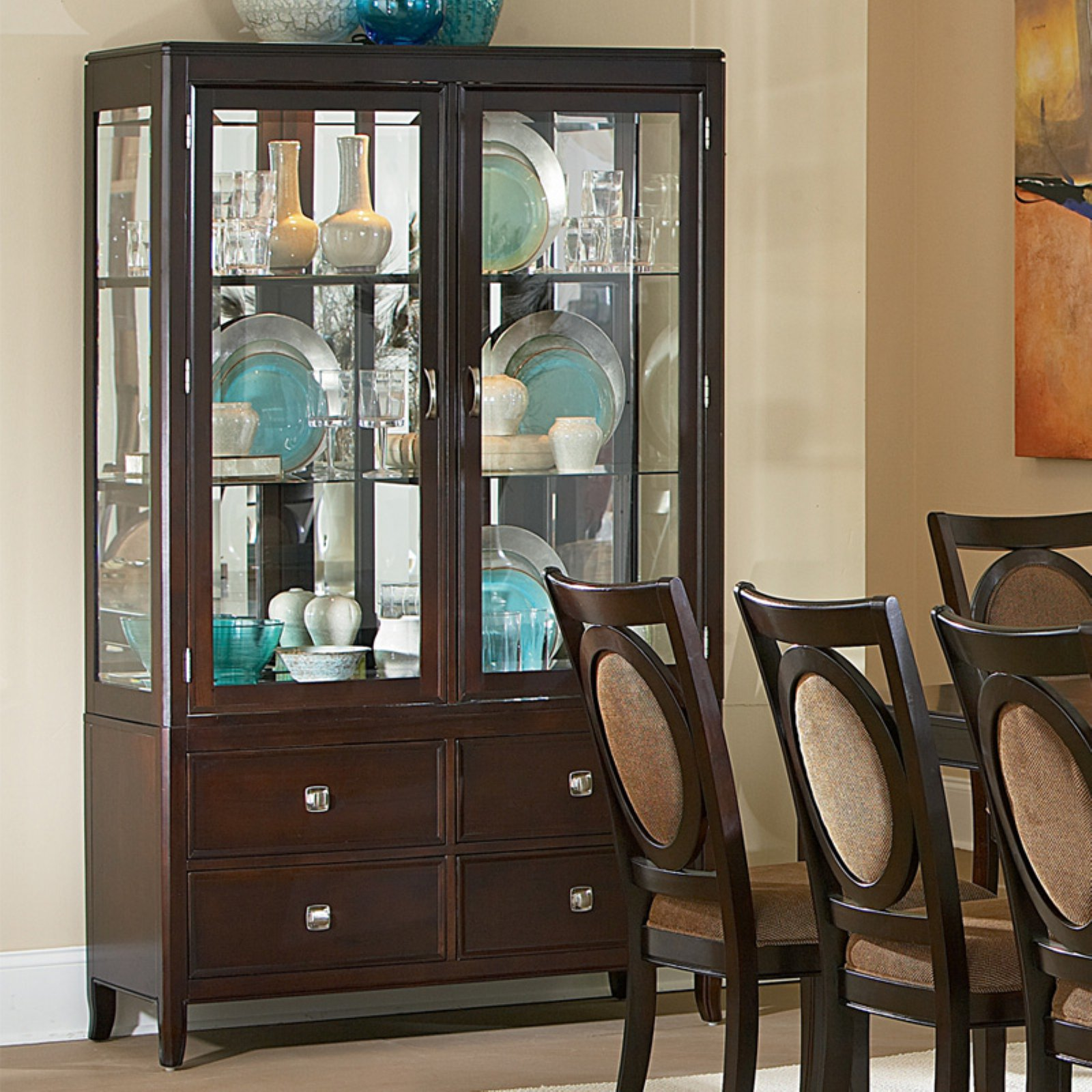 Steve Silver Montblanc China Cabinet