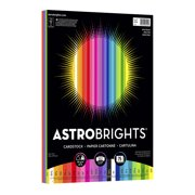 "Astrobrights Colored Cardstock, 8.5"" x 11"", 65 lb/176 gsm, ""Spectrum"" 25-Color Assortment, 75 Sheets"