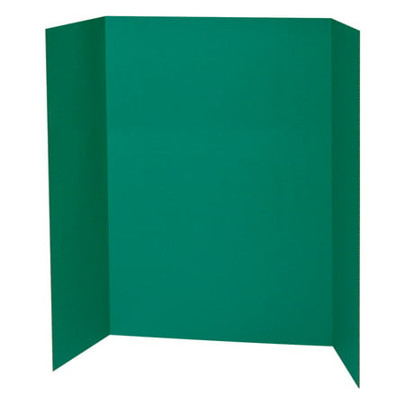 Pacon Tri-Fold Presentation Board, Green, 48