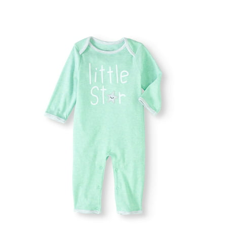 0cf5a1363 Rene Rofe - Newborn Baby Boy or Girl Unisex Footless Coverall One Piece  Romper - Walmart.com