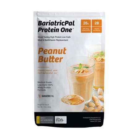 BariatricPal Protein One MultiVitamin & Meal Replacement - Peanut Butter