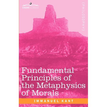 Fundamental Principles of the Metaphysics of