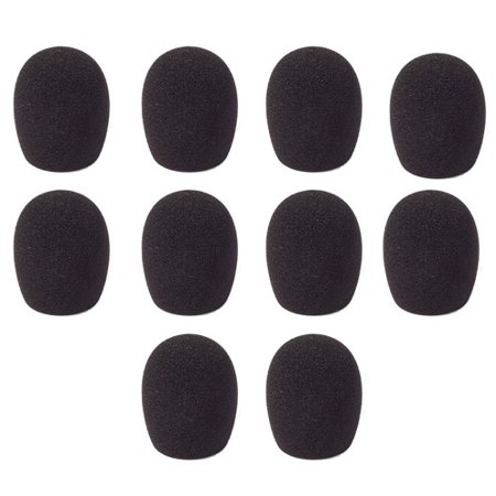 Gn Netcom Microphone (Jabra 14101-03 GN2000 Microphone Foam Cover (10 Pack))