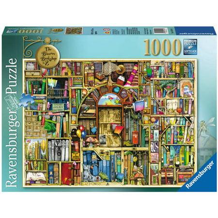 The Bizarre Bookshop No. 2 Puzzle, 1000 Pieces - Adult Puzzles