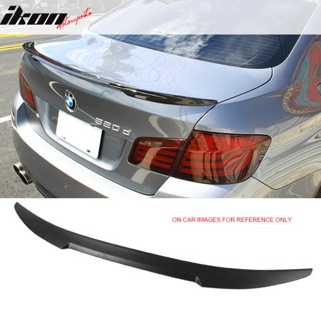 Fits 11-16 BMW 5-Series F10 4Dr Sedan M4 Style Carbon Fiber (CF) Trunk - Carbon Cf Trunk