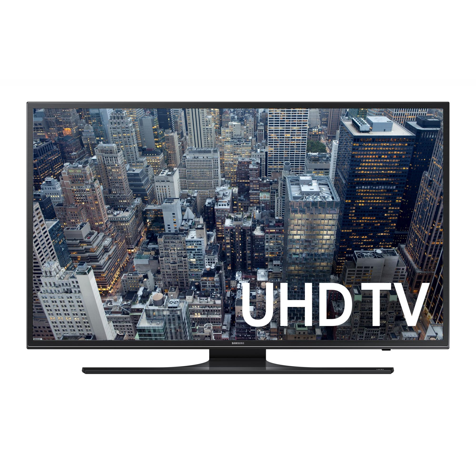 "SAMSUNG 40"" 6500 Series - 4K Ultra HD Smart LED TV - 2160p, 120MR (Model#: UN40JU6500)"
