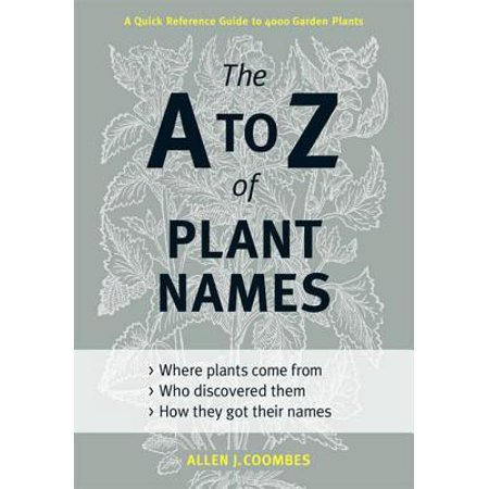 A to Z of Plant Names - eBook