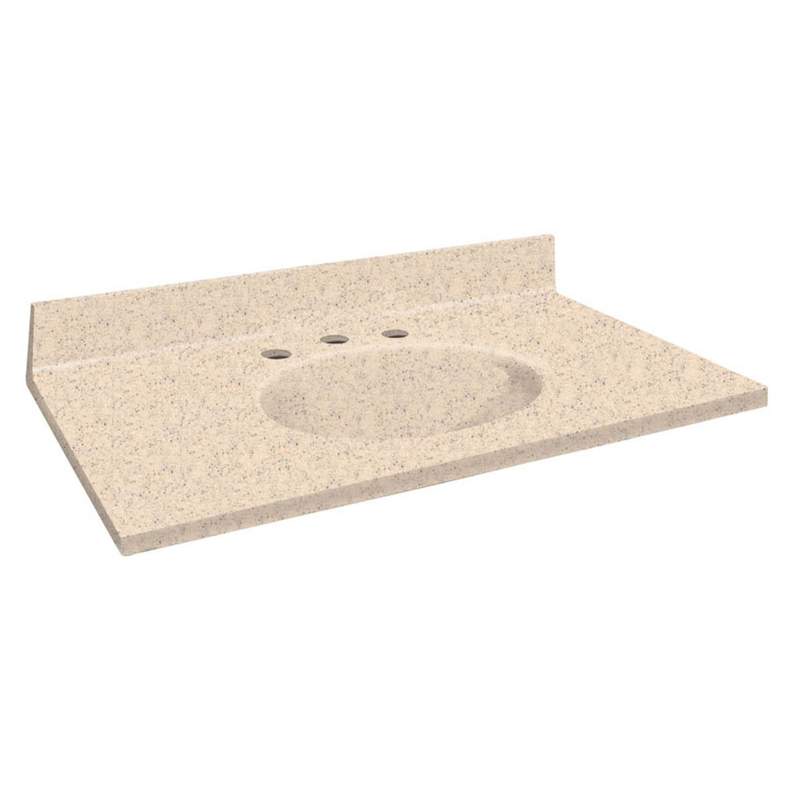 Transolid Samson 25W x 22D in. Chelsea Solid Surface Sing...