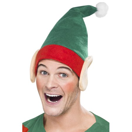 Elf Hat with Ears - Musical Elf Hat