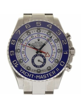 51c8902ab5e Product Image Rolex Yacht-master Ii 116680 Steel Watch (Certified Authentic    Warranty)