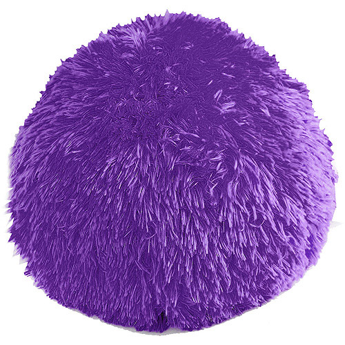 your zone longhair fur decorative pillow