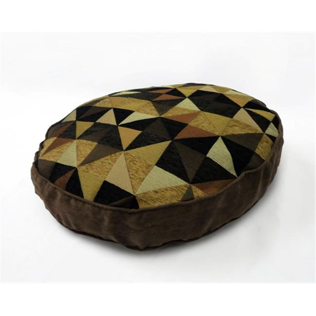 HFI 84661PB1BTN Windmill Black And Tan 22X4 Round Pet Bed