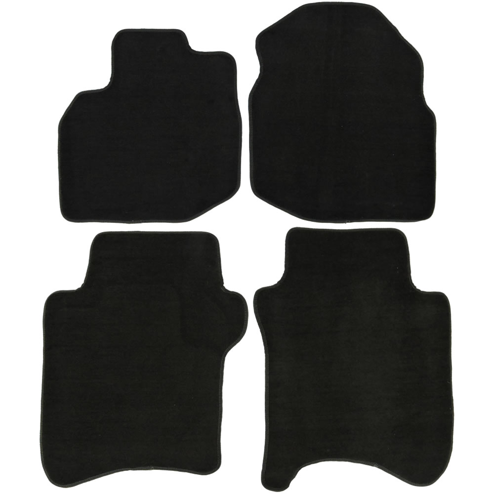 Awesome UAA Custom Fit Black Carpet Car Floor Mats Set For Honda Fit 2009 2014