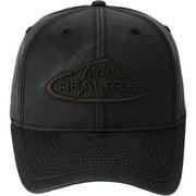 Black Waxcloth Logo Cap