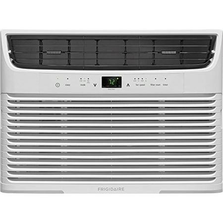 - Frigidaire 12,000 BTU 115V Window-Mounted Compact Air Conditioner with Remote Control