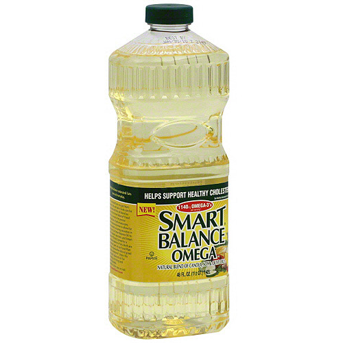 Smart Balance Omega Canola Soy & Olive Cooking Oil Blend, 48 oz (Pack of 9)