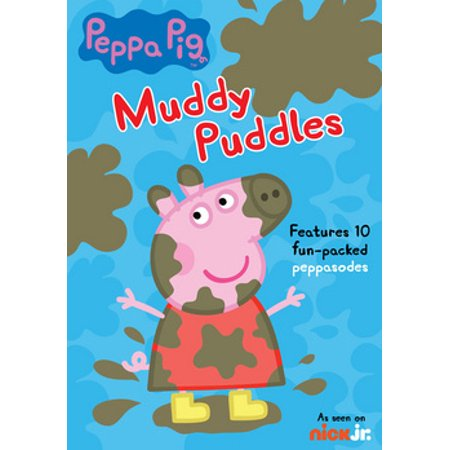 Peppa Pig: Muddy Puddles (DVD) - Peppa Pig New Episodes