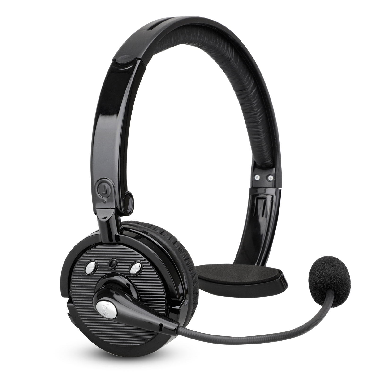 Bluetooth Headset For Drivers Pashion Over The Head Noise Canceling Wireless Bluetooth Headphones With Mic Handsfree Calling For Iphone Samsung All Bluetooth Enabled Devices Walmart Com Walmart Com