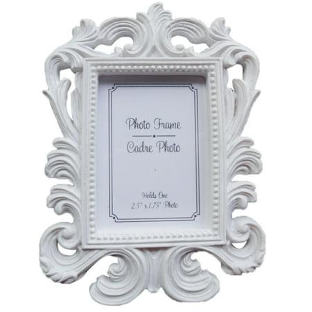 Holiday Clearance Decorative Flower Retro Photo Frame Wedding Home Decor Desktop Picture Frame