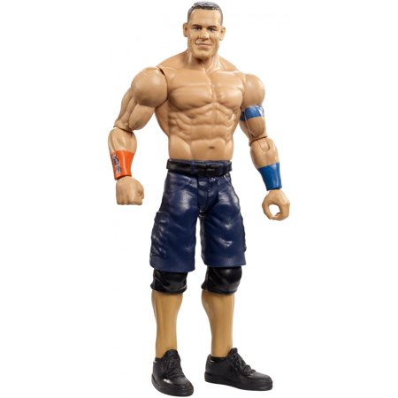 WWE Top Picks John Cena 6-Inch Action Figure with Life-Like - John Cena Muscle Size
