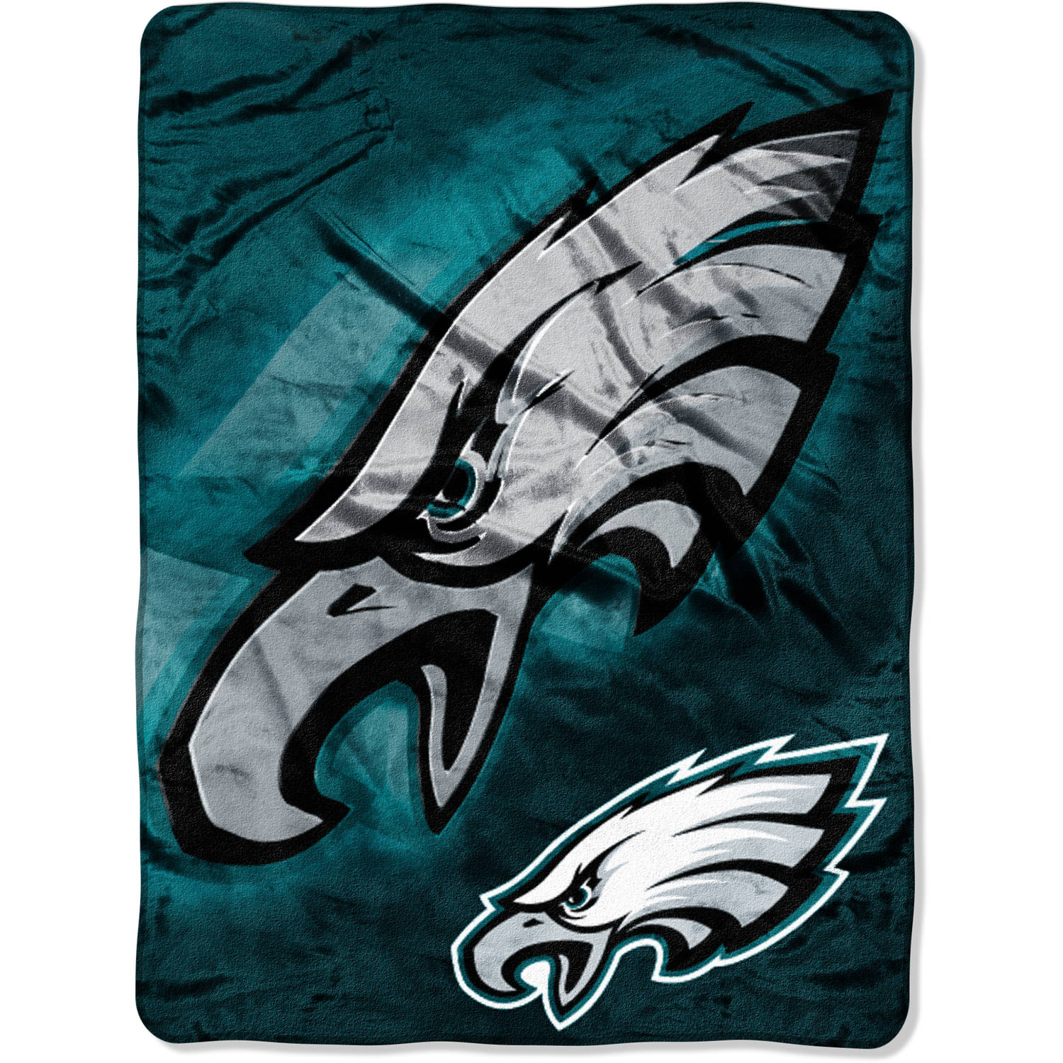 "NFL Philadelphia Eagles 60"" x 80"" Oversized Micro Raschel Throw"