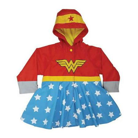Girls' Western Chief Wonder Woman Raincoat