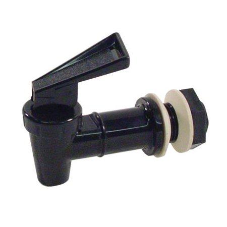 Carlisle 221203 Trimline Beverage Dispenser Faucet, Polypropylene, Black