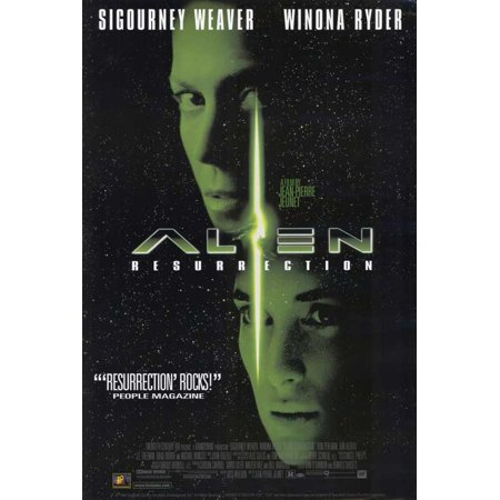 Alien Resurrection POSTER Movie C Mini Promo - Halloween Miis Wii
