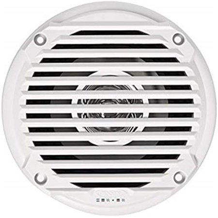 S5006WR 5 in. Jensen Marine Speakers - White, Pair (Electronic Marine Converter)