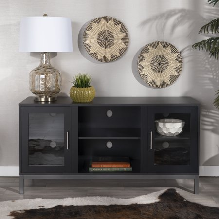 Manor Park Modern TV Stand with 2 Storage Cabinets for TV